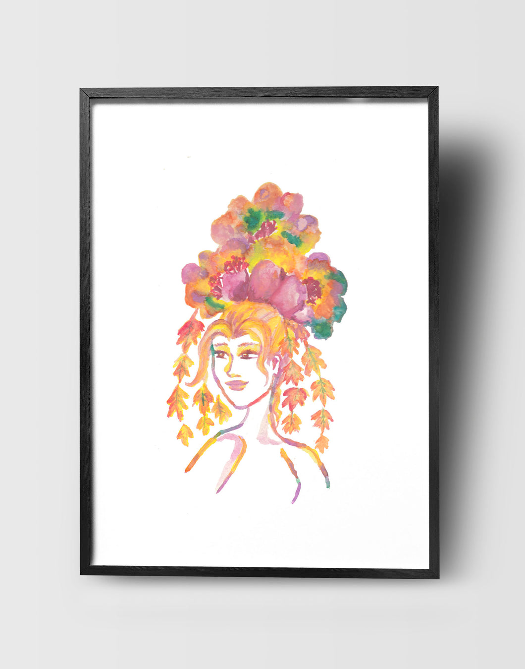 Autumn Goddess Art Print