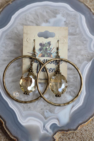 81939 Ring Crystal Earring