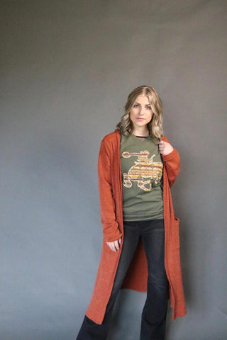 4205 Rust Grandpa Sweater (4@$18)