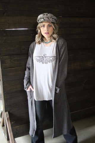 4205 Charcoal Grandpa Sweater (4@$18.50)