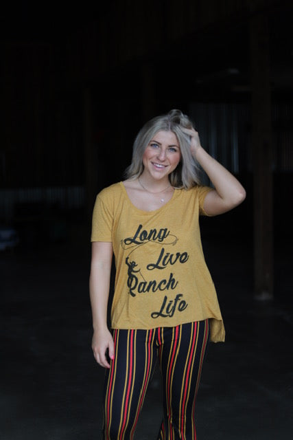 99 Long Live Ranch Life Adult Tee (6@$14.75)