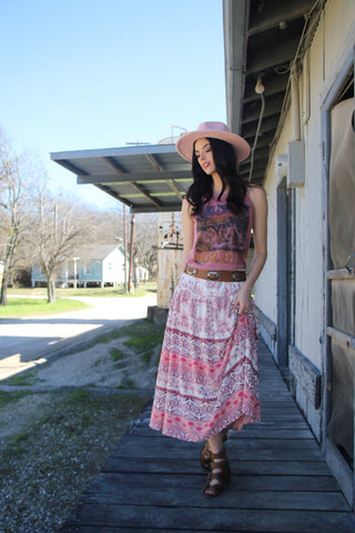 Copy of 5002 Blush Boho Skirt (3@$14)