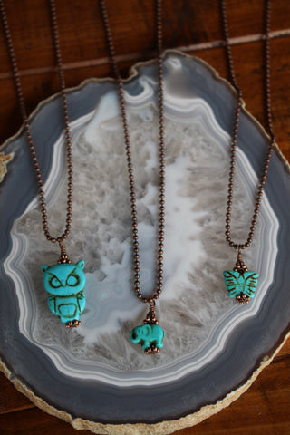 71852 Animal Charm Necklace