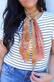 1000 Mustard Boho  Long Neck Scarves (4@$4)