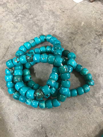 05185 Smooth Barrel Green Bracelet