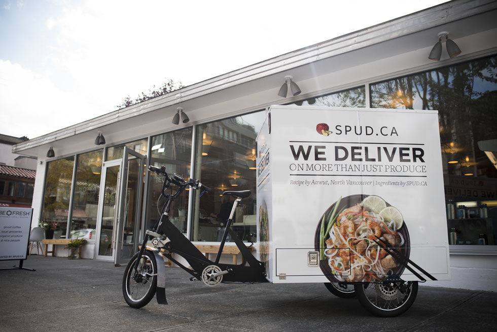 Grocery Delivery By E-Bike? An Electric Milk-Cycle?