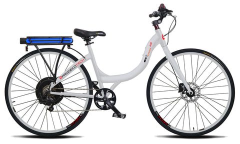 ProdecoTech Stride 400 Full-Size Step-Through Electric Bike