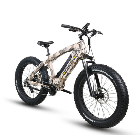 QuietKat FatKat  Predator 750-IC Fat Tire Hunting Electric Bike