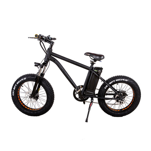 "Nakto Mini Cruiser 300w 20"" Fat Tire Electric Bike"