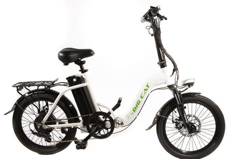 Big Cat Hampton 500w Folding Electric Bike