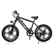 "Nakto Discovery 350w 20"" Fat Tire Electric Mountain Bike"