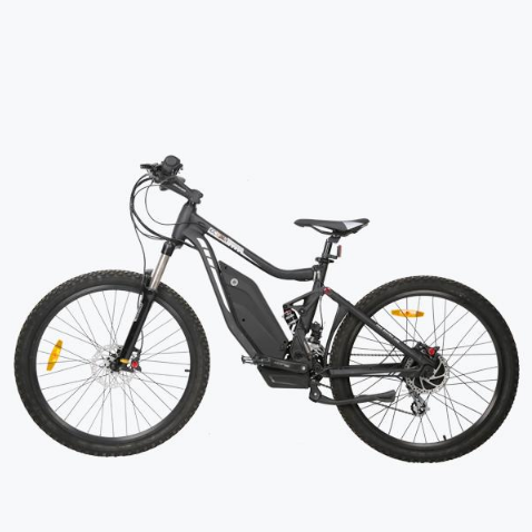 Ecotric Tornado 750w Full Suspension Mountain Electric Bike