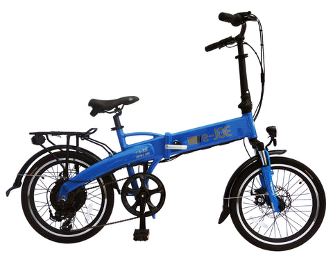 E-Joe 2018 EPIK SE (Sports Edition) Folding Electric Bike- 500W 48V/10AH