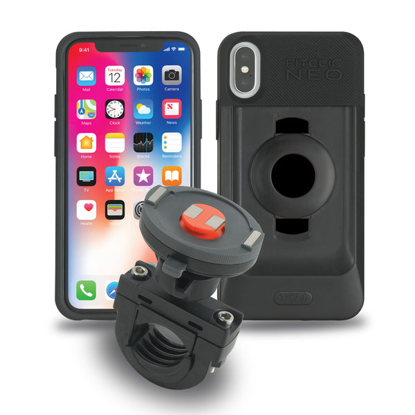 Tigra Sport FitClic Neo iPhone X/XS/XS Max Motorcycle Case Kits