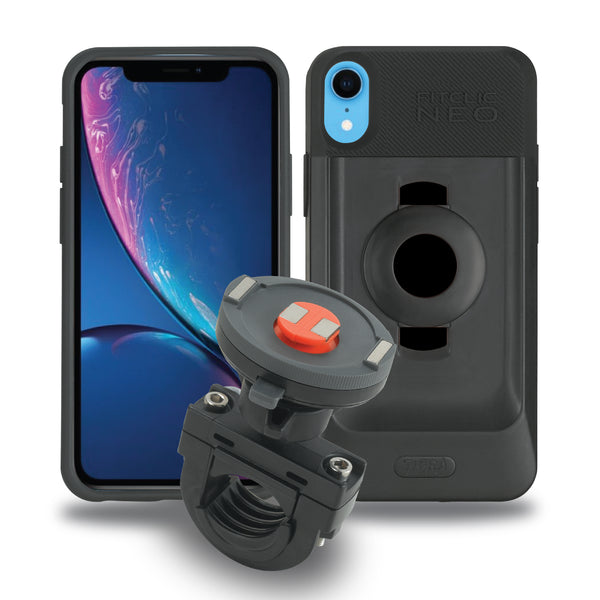 Tigra Sport FitClic Neo iPhone XR Motorcycle Case Kits