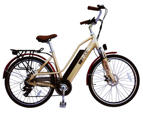 E-Joe 2018 GADIS Electric Bike - 500W 48V Step-Through Commuter