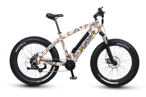 QuietKat FatKat 1000-IC Fat Tire Hunting Electric Bike