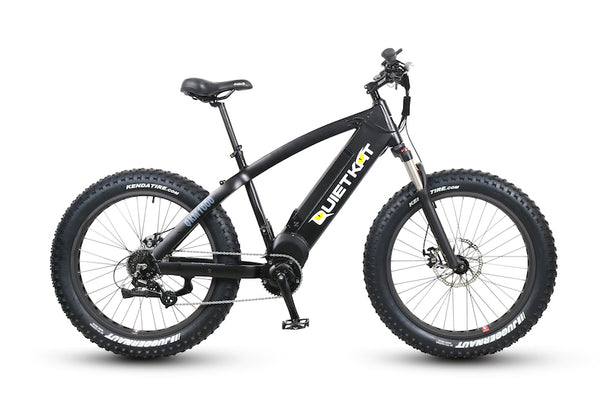 QuietKat FatKat Warrior 1000w Fat Tire Hunting Electric Bike