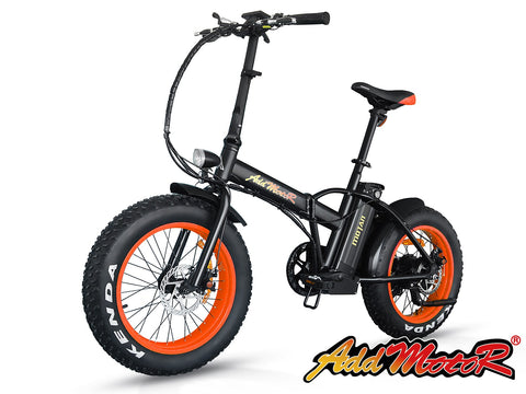 Addmotor 2018 MOTAN M-150 500W 48V Fat Tire Folding Electric Bike