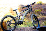 QuietKat RidgeRunner 750w/1000w Fat Tire Hunting Electric Bike