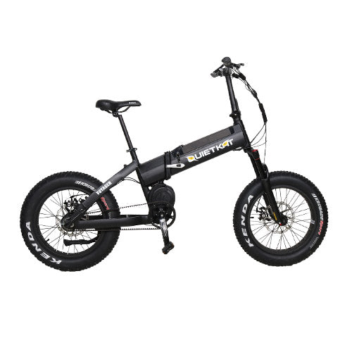 QuietKat Voyager 750w Folding Fat Tire Hunting Electric Bike