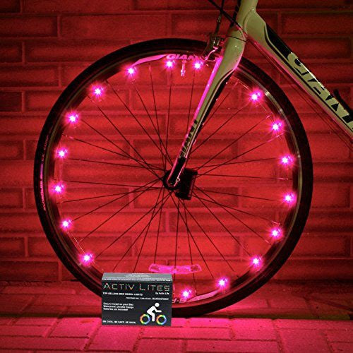 Buy Pink Bicycle Wheel Lights - Stylish Accessories for Safe Bike Riding at  Zappy Wheels Electric Bikes for only  14.90 c4999a9b52