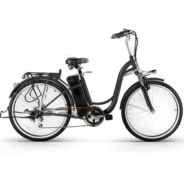Nakto 2018 CAMEL Step-Through Female 250w Cruiser Electric Bike