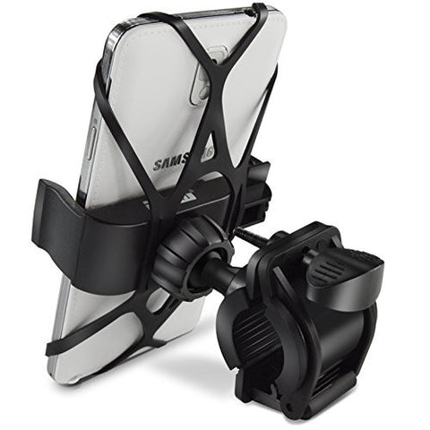 Cell Phone Bicycle Rack Handlebar & Motorcycle Holder Cradle