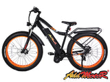 Addmotor MOTAN 1000W 48V 17.5AH 26 inch Fat Tire E-bike Orange M5800