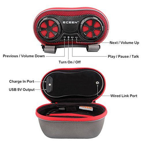 Buy Wireless Bluetooth Speaker - Bicycle Speaker Case with Hands-Free  Speakerphone Calls at Zappy Wheels Electric Bikes for only $32 99