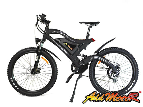 Electric Bike - Addmotor 2017 HITHOT H2 500W 48V Mountain Electric Bike