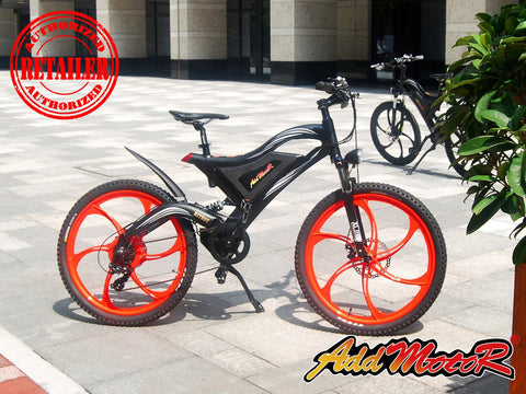 Buy Addmotor Hithot H2 500w 48v Mountain Electric Bike Mag Wheels
