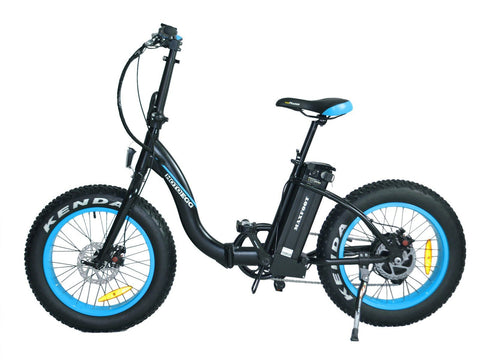 Electric Bike - Addmotor MaxFoot 500W 48V Folding Fat Tire Electric Bike