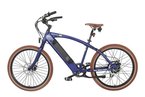 Electric Bike - Bat-Bike Bat Beach Cruiser Cruiser 500W Electric Bicycle