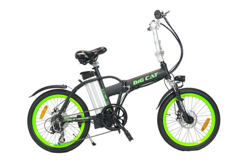 Electric Bike - Big Cat USA 2016 Hampton Folding Electric Bike
