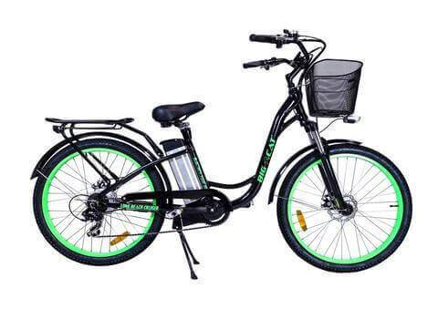 Electric Bike - Big Cat USA 2016 Long Beach Cruiser
