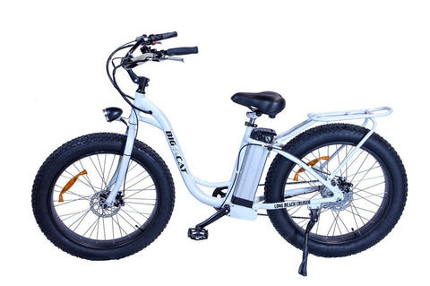 Electric Bike - Big Cat USA 2016 Long Beach Cruiser XL