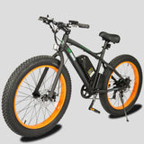 Electric Bike - E-Go Bike Fat Tire Electric Bike Beach Cruiser
