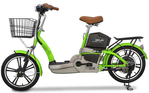 Electric Bike - EMOJO E-1 Scooter Electric Bike Hybrid