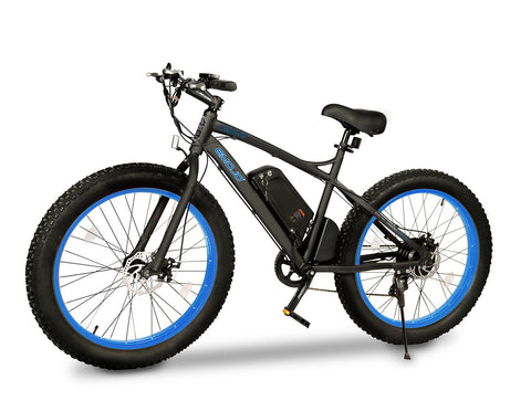 Electric Bike - EMOJO Wildcat Fat Tire Electric Bike
