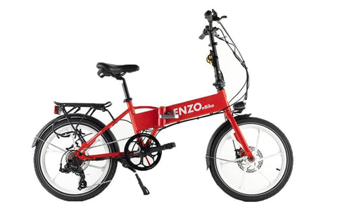 Electric Bike - Enzo 2016 Folding Electric Bike