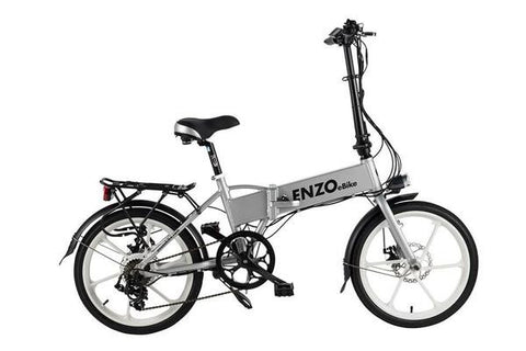 Buy Enzo Folding Electric Bike At Zappy Wheels Electric Bikes For