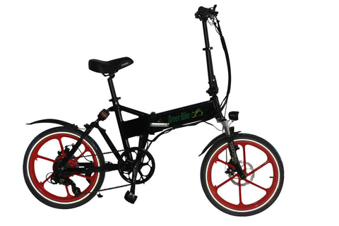 Electric Bike - Green Bike USA 2016 GB SMART Folding Electric Bike