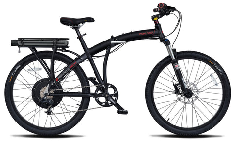 Electric Bike - ProdecoTech Phantom X2 Full-Size Folding Electric Bike