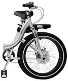 Electric Bike - ProdecoTech Stride 300 Full-Size Step-Through Folding Electric Bike