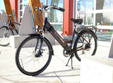 Electric Bike - Shocke Ampere City Electric Bike- Comfort Cruiser