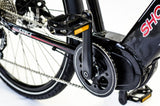 Electric Bike - Shocke Surge Electric Bike- Urban Commuter W/ Mid-Drive Motor