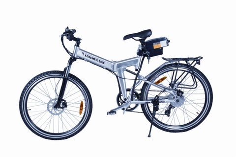 Electric Bike - X-Treme X-Cursion Folding Electric Mountain Bike