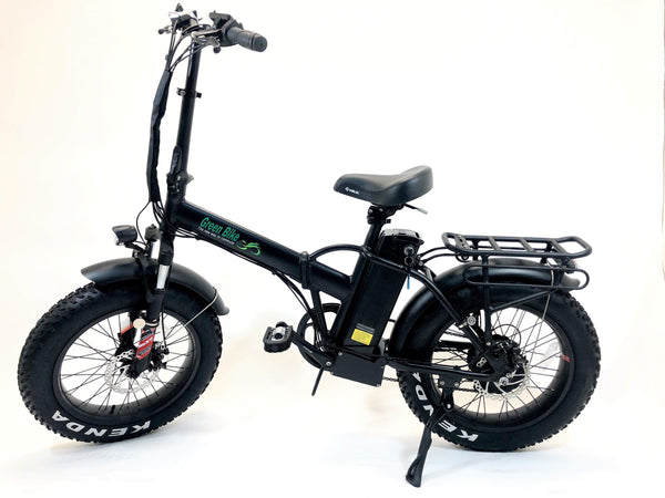 Green Bike USA GB1 Folding Fat Tire Electric Bike