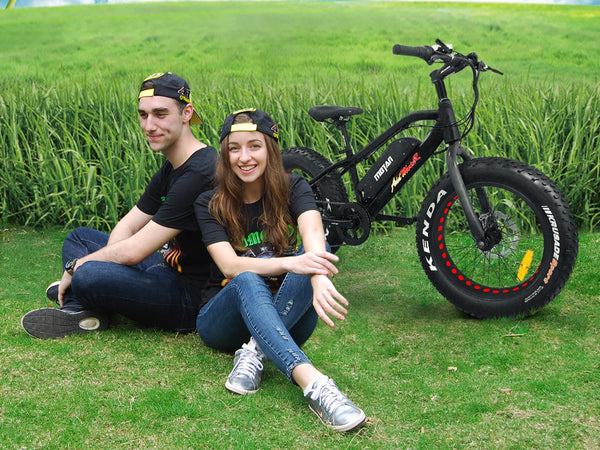 Addmotor 2017 MOTAN M-50 Fat Tire Bike